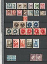 Rumänien, postfrisches Lot aus 1946+1947