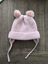 Zara Baby Girl Pompom Hat Pink One Size