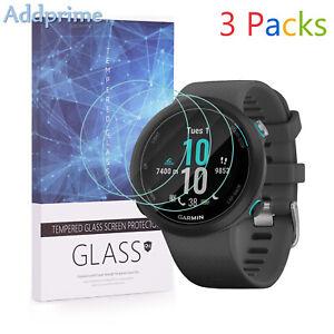 For Garmin Swim 2 Tempered Glass Screen Protector 9H Hardness 3 Packs