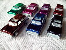 2004 HW Classics Series 1 Chevy Nomad 7 Car Set in 7 Colors loose as Pictured