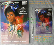 3-D Captain EO SPECIAL SOUVENIR EDITION Michael Jackson BIG PICS! VERY NICE!