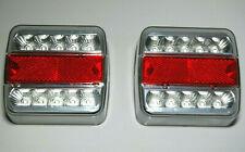 2 x 14 LED Rückleuchten Heckleuchte Anhänger Rücklicht 5-pol Bajonett E4 geprüft