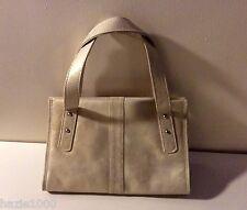 Fab Harrie Hendriks ladies small gold shimmer suede handbag, BNWOT