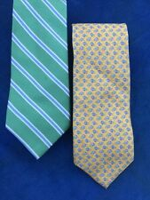 NAUTICA Polo Rugby Neck Tie ++ FREE TOMMY HILFIGER Fish Minnow Mens Classic Tie