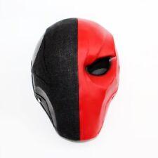 Deathstroke Mask Red Batman Costume Halloween Helmet Arkham Origins Cosplay Prop