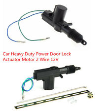 Black DC12V Car Heavy Duty Power Door Lock Actuator Motor 2 Wire Alarms Security