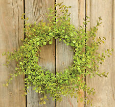 "Light Green Peppergrass 10"" Small Wreath Ring"