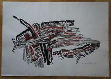 ROSEMARIEN WEBER (MARKERT) (1927/2010)  - COMPOSITION   1967  -  Signé