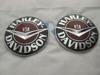 Harley Davidson CVO Tankembleme Tankschilder Tank Embleme 14100302 & 14100303