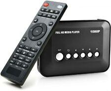 Agptek 1080p HDMI TV Media Player - Black