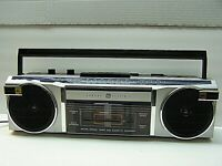 Retro GE Model 3-5623A Boombox Stereo Cassette Recorder Player AM/FM Radio 1980s