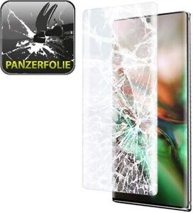 1x Panzerfolie für Samsung Galaxy Note 10 FULL COVER Displayschutzfolie HD KLAR
