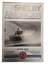 The Shelby American Saac Magazine Volume 4 Number 5 Sept- Oct 1979 Paxton Secret