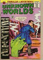 Unknown Worlds #14-1962 fn 6.0 Kurt Schaffenberger CC Beck