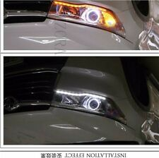 Fixed Style Dual Color LED Strip Lights Sequential Signal For Car Headlight Mods