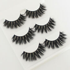 3D Handmade 100% Real Mink Luxurious Natural Thick Soft Lashes False Eyelashes