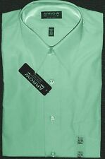 "ARROW SZ 141/2"" (SMALL) LONG SLEEVE DRESS SHIRT - ""LEAF"" GREEN - NWT"