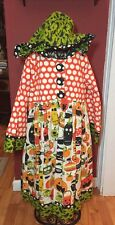 Jelly The Pug Girls Sz.  12 14 Halloween Hooded Dress LN!