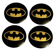 4x Batman Alu Felgensticker Felgendeckel Nabendeckel Aufkleber Kfz Auto 56,5mm