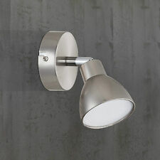 WOFI LED Applique murale Lester 1-FLG CHROME NICKEL DE 1 pièce Spot Réglable