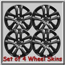 "Black Ford Explorer Wheel Skins 18"" 2018-2019 Hubcaps Black Wheel Covers"
