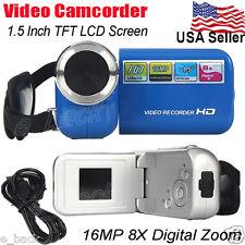 2017 1.5'' TFT LCD 16MP 8X Digital Zoom Video Recorder Camcorder Camera HD DV
