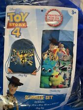 Disney Pixar Toy Story 4 Rescue Slumber Set, Blue