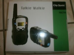 Jeu Electronique - Talkie Walkie  TEC76 - CLIP SONIC