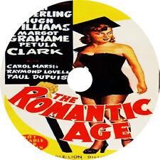 THE ROMANTIC AGE (1949) Mai Zetterling Petula Clark Hugh Williams V Rare DVD