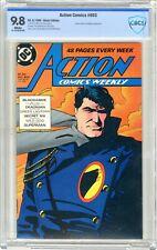 Action Comics  #603  CBCS  9.8  NMMT   White pgs  8/88  Green Lantern & Deadman