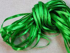 Craft Ribbon - 10 metres NARROW RIBBON - Emerald Green