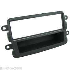 CT24DC02 DACIA DUSTER 2012 to 2013 GREY SINGLE DIN FASCIA ADAPTER PANEL PLATE