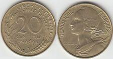 Gertbrolen 20 Centimes  Marianne en Cupro-Aluminium-Nickel 1969 Exemplaire N° 1