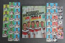 Rewe DFB WM 2014 Sammelkarten aussuchen aus Nr. 1 - 34 oder komplett Set Brasil