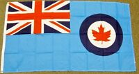 ROYAL CANADIAN AIR FORCE FLAG 3X5  RCAF CANADA RAF MILITARY NEW AIRFORCE F677