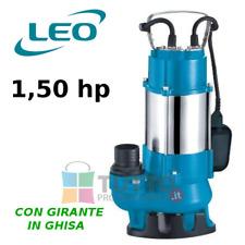Pompa sommergibile con galleggiante per acque sporche cariche fogna XSP20 1.5 hp