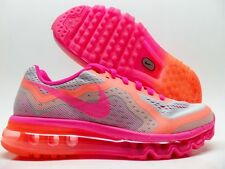 NIKE AIR MAX 2014 (GS) PURE PLATINUM/HYPER PINK SIZE 4Y/WOMEN'S 5.5 [631331-003]