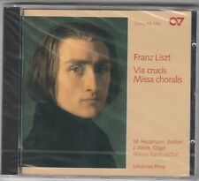 Franz Liszt - Via crucis Missa choralis (1999) Factory Sealed