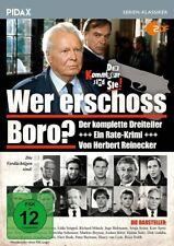 Wer erschoss Boro? * DVD 3-teiliger Rate- Krimi von Herbert Reinecker Pidax Neu