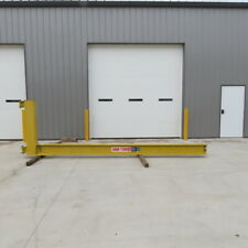 Abell Howe 12ton Cantilever Jib Crane 16 Swing 13 Trolley Travel Wall Mounted