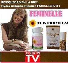 FEMINELLE 30 CAPS + Hydro Premium Collagen Intensive Facial Serum