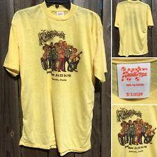 Vintage Rosie O'Grady's Good Time Jazz Band T-Shirt Orlando FL 70s KandiTops XL
