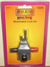 Illuminated Lock-on RealTrax 40-1003 Échelle O MTH