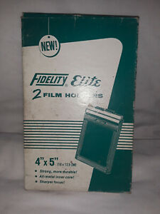 Fidelity Elite 4x5 Film Holders 2 Pack #763. clean, and in box