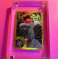 1996 Topps Finest GOLD REFRACTOR #164 Jay Buhner Mariners MINT
