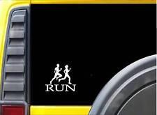 "Run Family J780 6"" Sticker runner decal marathon 26.2"
