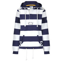 Lazy Jacks Ladies Hooded Stripe Sweatshirt - Twilight - LJ36