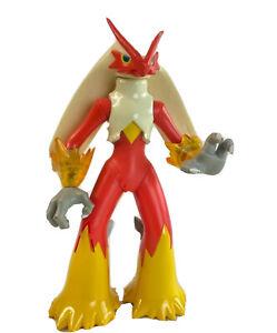 "Pokemon 2007 JAKKS Pacific 3.5"" BLAZIKEN Action Figure PVC Toy Battle Frontier"