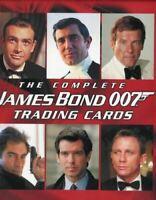 James Bond The Complete James Bond Collector Card Album w/ Autograph & Promo