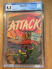 Atomic Attack #5 (1953) CGC 4.5 Atomic Bomb cover